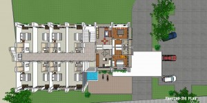 6 story Apartment