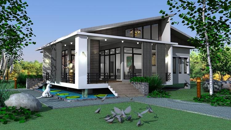 on Hillside House Design