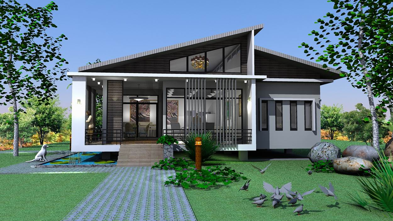 Home Design Single Story Single Story House Design
