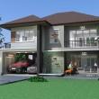 บ้านสองชั้น 4 ห้องนอน Msv-T198