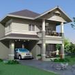 บ้านสองชั้น3ห้องนอน Msv-T145