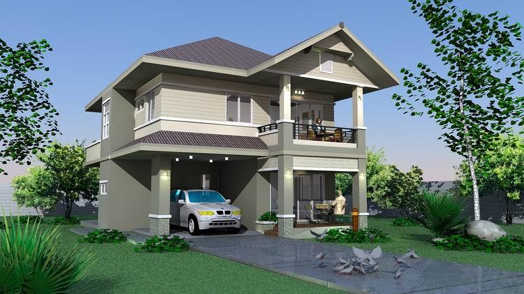 บ้านสองชั้น3ห้องนอน3ห้องน้ำ