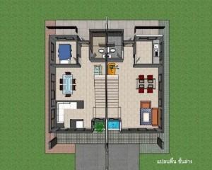 บ้านแฝดสองชั้น