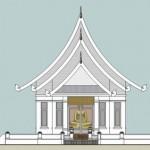 Wat Aampawan-02-0011-010-Front Elev