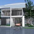 บ้านโมเดรินสองชั้น ในสวน Prtna-Hm202