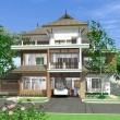บ้านไทยสามชั้น Ptn-2023