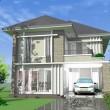 บ้านในเมือง สองชั้น 4 ห้องนอน  Hm204-Cyst