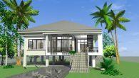 บ้านยกพื้นสูง 3 ห้องนอน Hm104-Ptl-TSB