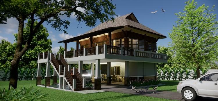 บ้านไทยสองห้องนอน