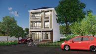 บ้านตึกสามชั้น 5 ห้องนอน Hm305-ORW
