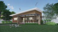 บ้านโมเดรินในสวน Hm101-Sawet