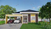 บ้านชั้นเดียว 3 ห้องนอน Hm103-TSL