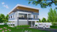 บ้านโมเดรินแบบไทยๆHm-kob