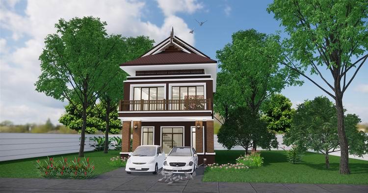 บ้านไทยสองชั้น