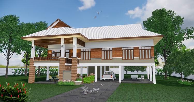 บ้านไทยยกพื้นสูง