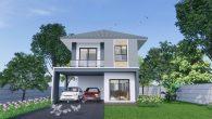 บ้านสองชั้น 4 ห้องนอน HM204 Ms