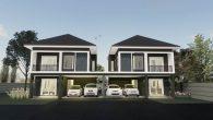 บ้านแฝดสองชั้น 3 ห้องนอน DbHm203
