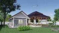 บ้านพักในสวน+ศาลา HM Dnsh