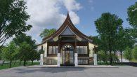 หอพระสยามเทวาธิราช Watvimok-Sala