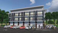 ตึกแถวสามชั้น 6 ห้อง Shp306-WCrp